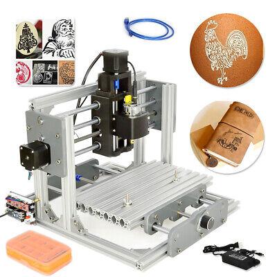 2417 Desktop Mini Engraving Machine Milling Engraver Cnc Router Pcb Metal Diy Us