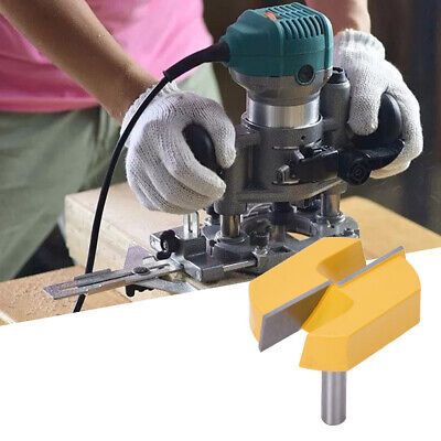 Router Bit Wood Table Bottom Cleaning Slotting Planing Woodworking Milling Tool