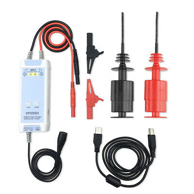 Dp20003 Oscilloscope 5600v 100m 50x-500x High Voltage Differential Probe Kit