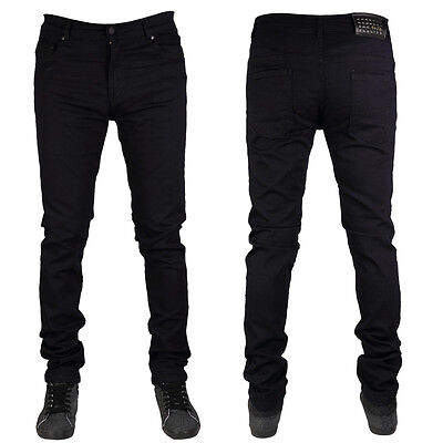 MENS G72 DENIM SUPER STRETCH SKINNY SLIM FIT JEANS ALL WAIST LEG SIZES