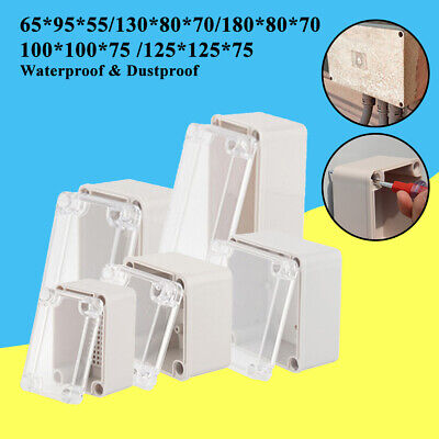 Outdoor Waterweather-proof Junction Box Plastic Electric Enclosure Case New Abs
