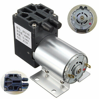 12v Mini Vacuum Pump Negative Pressure Suction Pump 5lmin 120kpa With Holder Su