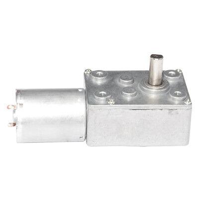 370 Dc 6v 12v Small Worm Geared Motor Diameter 6mm Self-locking Diy Parts