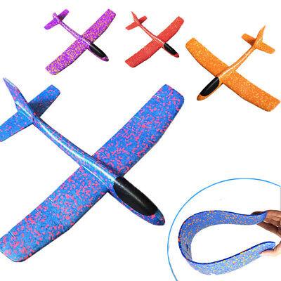 Hand Throw Airplane Outdoor EPP Foam Launch Glider Plane Kids Gift Toy 49*43cm - Foam Gliders