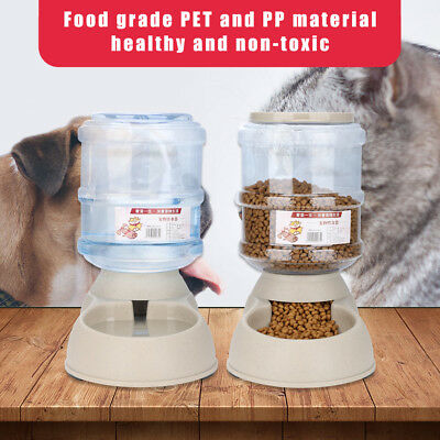 Automatic Pet Feeder Programmable Dog Cat Animal Food Bowl Timed Auto Dispenser