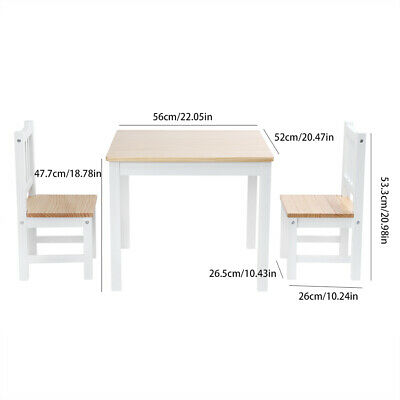 2 Seater Dining Table And Chairs Breakfast Kitchen Room Small Furniture Set 1