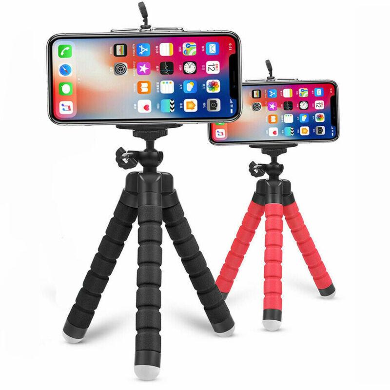 Tripod Stand Mount Flexible Mini Adjustable Octopus Holder  GoPro Camera Phone