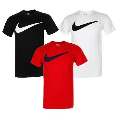Nike Men's Short Sleeve Swoosh Graphic Active T-Shirt
