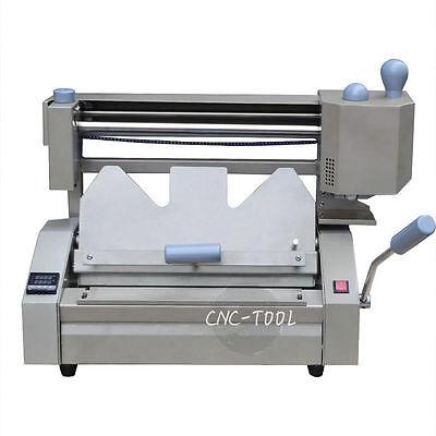 A4 0.1-40mm Desktop Manual Hot Melt Glue Binder Binding Machine 220v