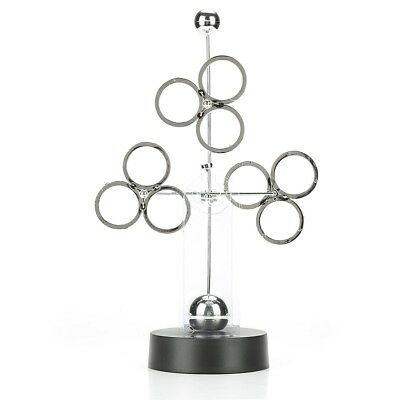 1pc Electronic Motorial Gadget Perpetual Motion Desk Art Toy Gift Office Decor