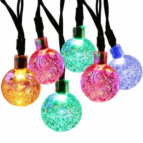 MagicLux Tech [21ft 30 Led] Solar String Lights Globe (Multicolor)- NEW