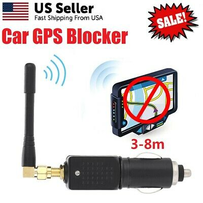 12-24V Car GPS Signal Interference Blocker Anti Tracking Stalking Case Antenna