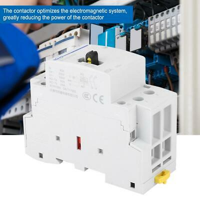 Ac Contactor Household Contactot Din Rail Mount 63a 230v With Control Switch