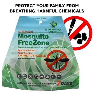 GREENERWAYS ORGANIC Mosquito Repellent Zone - Non-Toxic Orga