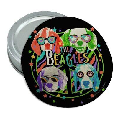 The Beagles Dog Band Peace Hippie Retro Rubber Non-Slip Jar