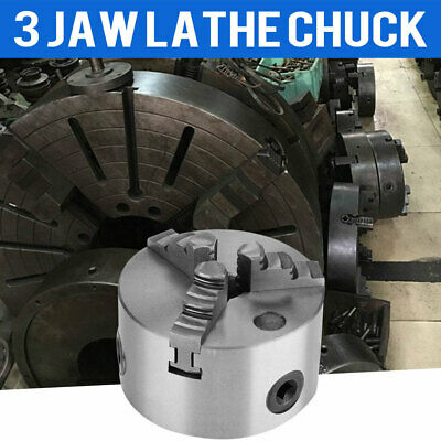 Self-centering Lathe Chuck 3 Jaw 4 Inch For Milling K11-100 Hardened Steel 100mm