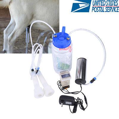 Portable Electric Milking Machine Cow Goat Big Suction Capacity Milking Machine