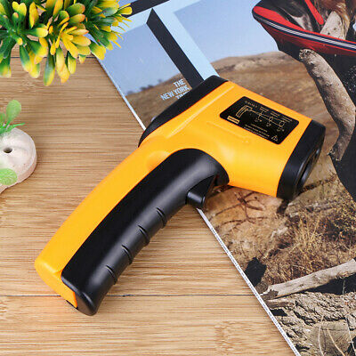 Industrial Digital Lcd Ir Thermometer Non-contact Laser Infrared Temperature Gun