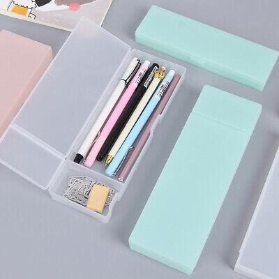 Transparent Plastic Pencil Case Pen Box Kids Gift Office School Supplies ](Kids Pencil Case)