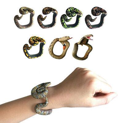 Realistic Snake Prop (Realistic Soft Rubber Snake Toy Home Garden Trick Joke Prank Halloween Prop)