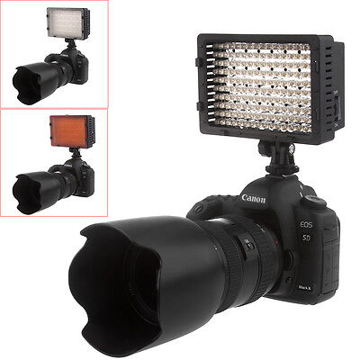 NEEWER 160 LED CN-160 Dimmable Camera Camcorder Video Light LED Light for Canon