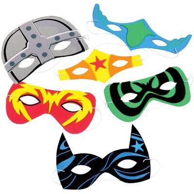 Foam Superhero Masks - Foam Superhero Mask