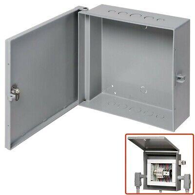 Arlington Outdoor Electric Cabinet Enclosure Box Heavy Duty Plastic 7 X 8 Gray