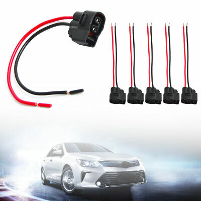 6 Packed Ignition Coil Connector Pigtail Plug Harness New For Toyota-Lexus MS