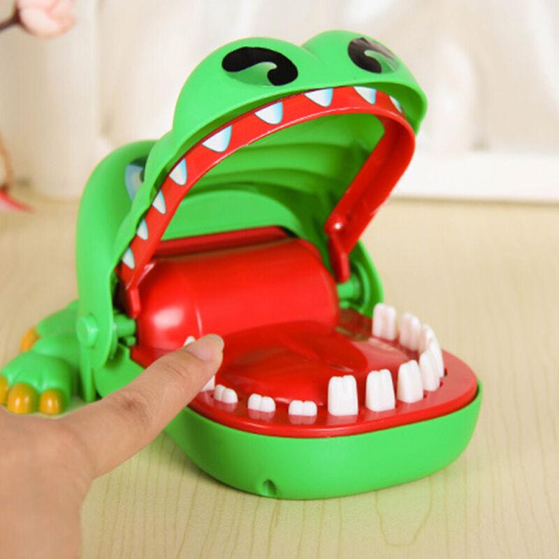 Crocodile Dentist Bite Finger Game Animal Croco Novelty Teeth Toy For Kids Gift
