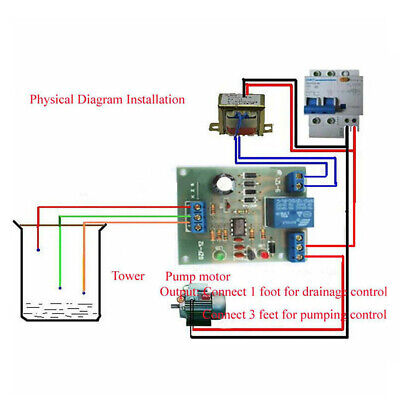 Full-automatic Water Level Controller-liquid Level Detection Sensor Module