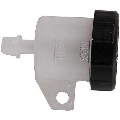 Brembo Bremsflüssigkeitsbehälter 10444640 Ausgang gerade 90° weiß/sw Motorrad