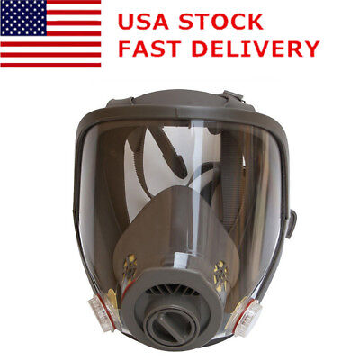 Us For 3m 6800 Full Face Dust Gas Mask Facepiece Respirator Painting Spraying