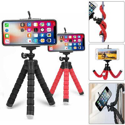Universal Cell Phone Holder Flexible Octopus Tripod Bracket Selfie Stand Monopod
