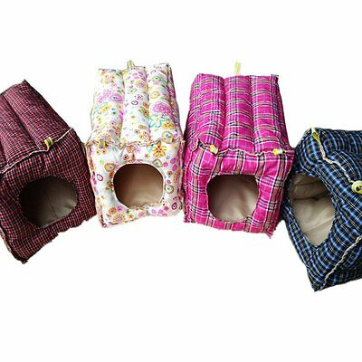 Generic Hammock Hanging Bed Toy House Cage for Rabbit Guinea Pig Ferret Small