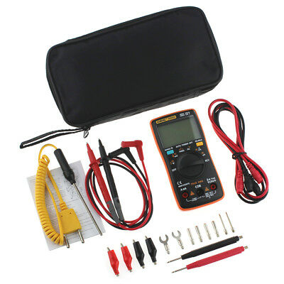 Rms Auto Range Digital Multimeter Ohmmeter Voltage Ammeter Current Meter Grace