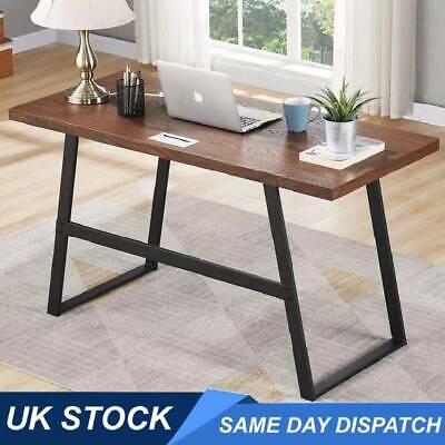 Computer Desk Office Study Writing Gaming PC Laptop Table Workstation Wood Metal