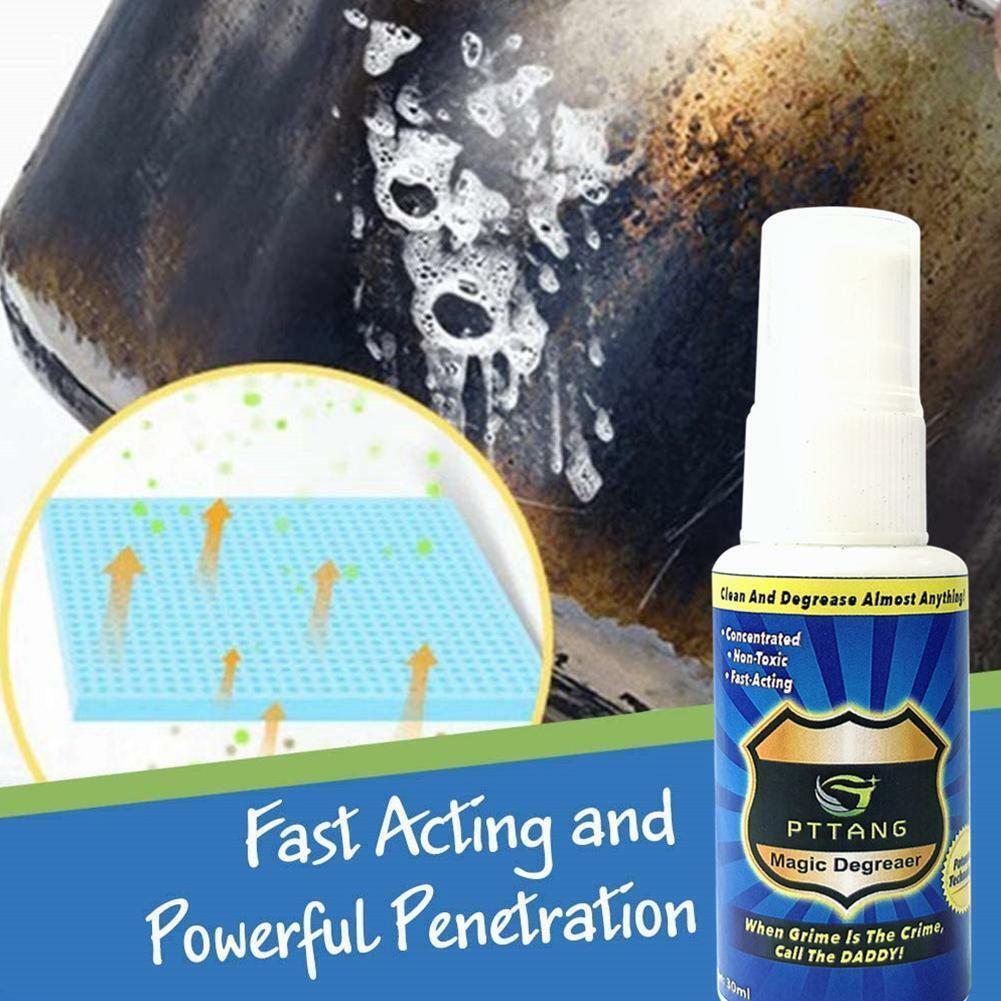 Magic Degreaser Cleaner Spray home Kitchen Bathroom Dirt Oil
