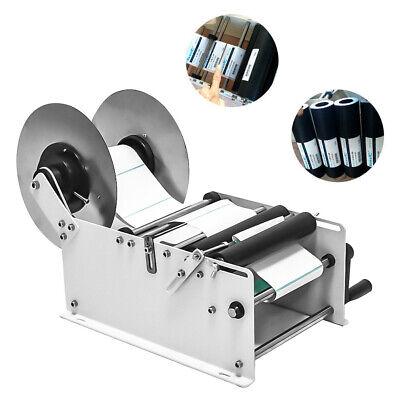 Mt-30 Manual Labeling Machine Semi-automatic Round Bottle Packing Machinery Us