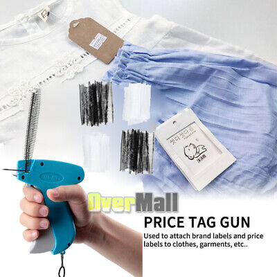 Clothing Price Tagging Tag Tagger Label Gun 2000 Barbs Price Fasteners Kit Set