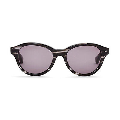"NEW DITA EYEWEAR Black Swirl ""CORSICA"" Round Sunglasses -70% OFF"