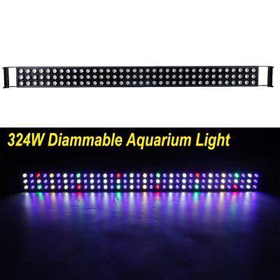 324W 48 inch LED Aquarium Light Bar Full Spectrum Fish Coral Reef Tank SPS LPS