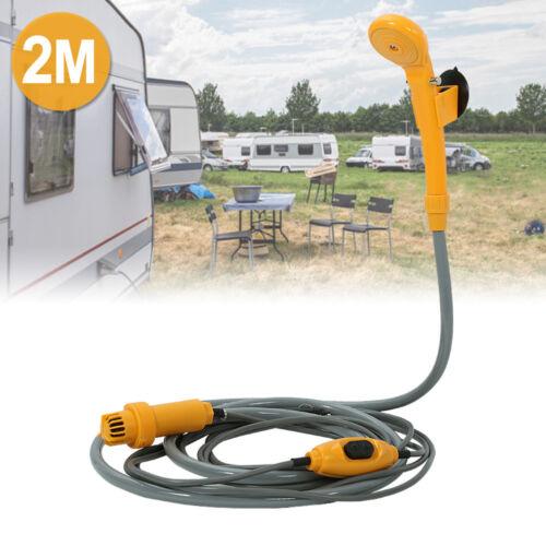 Camping Dusche 12V Brause +Tauchpumpe Auto Caravan Wohnwagen Outdoor Wohnmobil