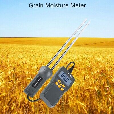 Digital Multifunction Moisture Meter Humidity Tester Hay Forage Grain Materials