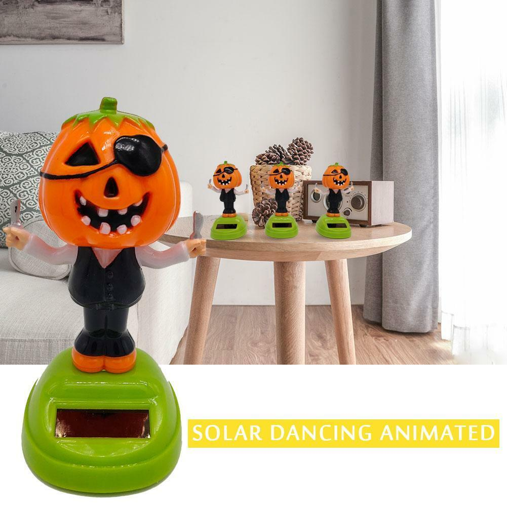 Solar Powered Dancing Pumpkin Bobble Head