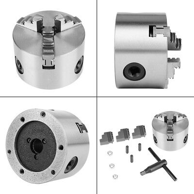 3inch K11-80 3-jaw Self-centering Lathe Chuck 80mm For Lathe Milling Machine Hf