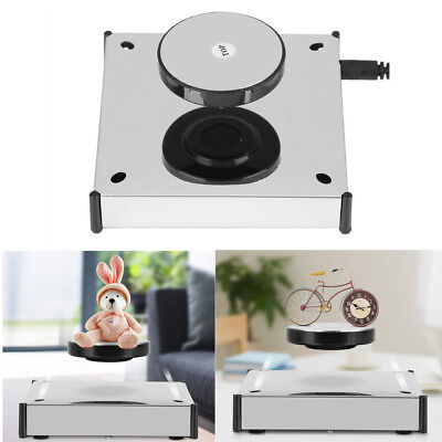 LED Rotating Magnetic Levitation Floating Show Shelf Display Plateform