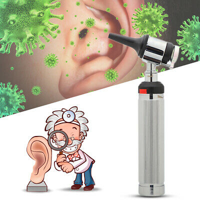 Medical Led Ear Diagnostic Otoscope Clinical Flashlight Ear Care Magnifying Lens