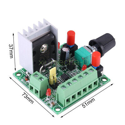1x Stepper Motor Pulse Signal Generatordriver Controllerspeed Regulator Module