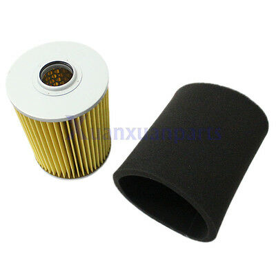 Air Filter & Pre Filter For Yamaha G2 G8 G9 G11 4 Cycle Gas Golf Cart 1985-1994