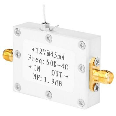 Lna Low Noise 50k-4g High Gain 25db 0.8g Flatness Rf Amplifier Cnc Shell